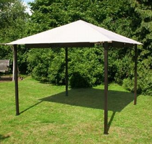 greemotion rattan pavillon gartenpavillon 3m x 3m wasserdicht ebay. Black Bedroom Furniture Sets. Home Design Ideas